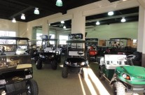 Mile High Golf Cars Main Showroom