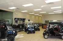 Mile High Golf Cars Showroom