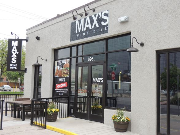 Max's Wine Dive Front